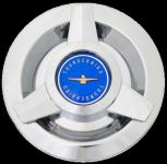 Center Cap Ford T-Bird blau für Speichenräder 14´´ - 15´´ 1038-BLUR