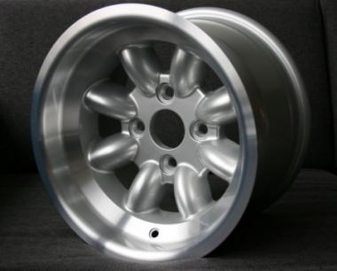 9,0x13 ET5 Max Minilite Design silber / poliert LK 4x100 Opel und BMW