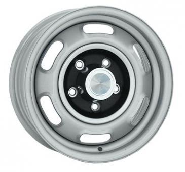 6.0x15 Pontiac Rallye I silver Lochkreis 5x4 3/4  -  Backspace 4,25´´