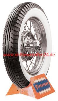 4.75/5.00-20 85P TT Firestone 4PR Deluxe Champion schwarze Ausführung
