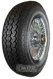 XW472C Speichenrad 5.0x15 MWS chrom 185R15 91H TL Vredestein Sprint Classic Komplettrad inkl. Montage und Wuchtung