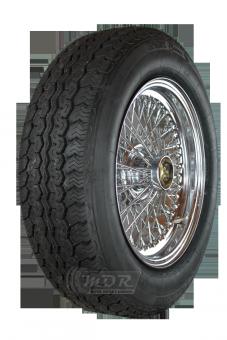 XW5720C Speichenrad 5.5x15 MWS chrom 185/70R15 89H Vredestein Sprint Classic Komplettrad incl. Montage und ZV-Wuchtung