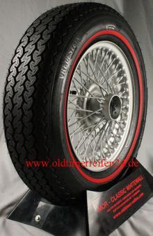 165R14 84H TL Vredestein Sprint Classic ca. 10mm MOR-Classic Redline
