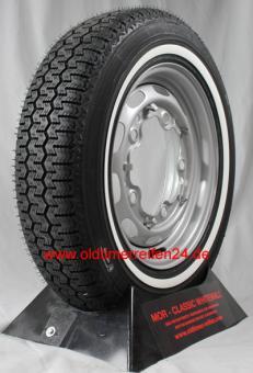 145/70R12 62S TL Michelin XZX ca. 20mm  MOR-Classic Weißwand