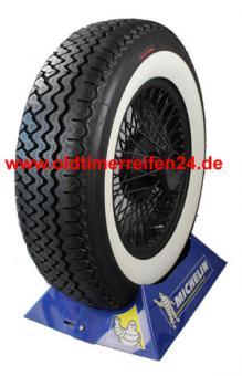 180R15 89H TT Michelin XAS ca. 60mm MOR-Classic Weißwand