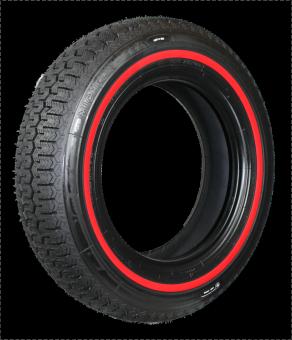165R15 86S TL Michelin XZX ca. 10mm MOR-Classic Redline