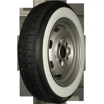 155R15 82T TL Michelin X ca. 60mm MOR-Classic Weißwand