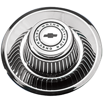 Chevrolet Derby Cap Script & Bowtie 7´´  7 Inch Back SKU:1012A