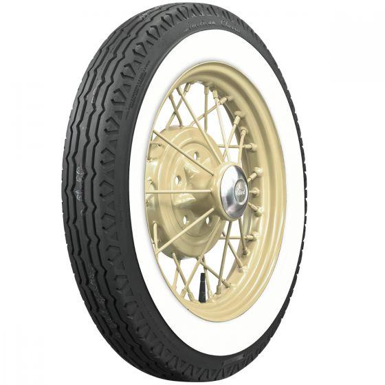 4.75/5.00R19 TT American Classic Radial whitewall 65mm (2 1/2´´)
