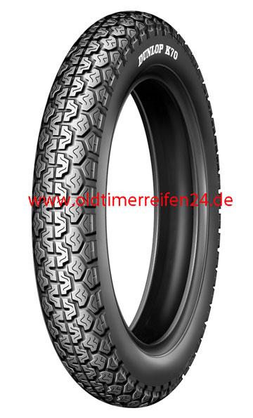 3.50-19 57P TT Dunlop K70 Gold Seal