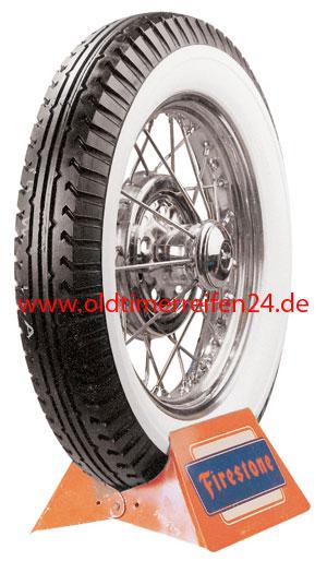 4.40/4.50-21 74P TT Firestone 4PR Deluxe Champion Weißwand 60 mm (2 3/8´´)