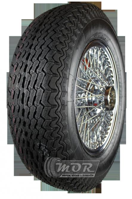 XW455C Speichenrad 5.0x15 MWS chrom 185R15 93V Dunlop Aquajet Komplettrad inkl. Montage und Wuchtung