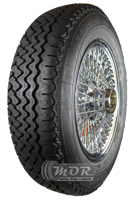 XW472C Speichenrad 5.0x15 MWS chrom 185R15 93V Michelin XVS Komplettrad inkl. Montage und Wuchtung