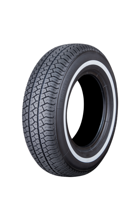 185R14 90H TL Michelin MXV orig. whitewall 20mm without Curb Guard