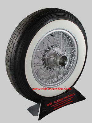 6.70R16 101H XL TL Avon Turbosteel ca. 65mm MOR-Classic Weißwand