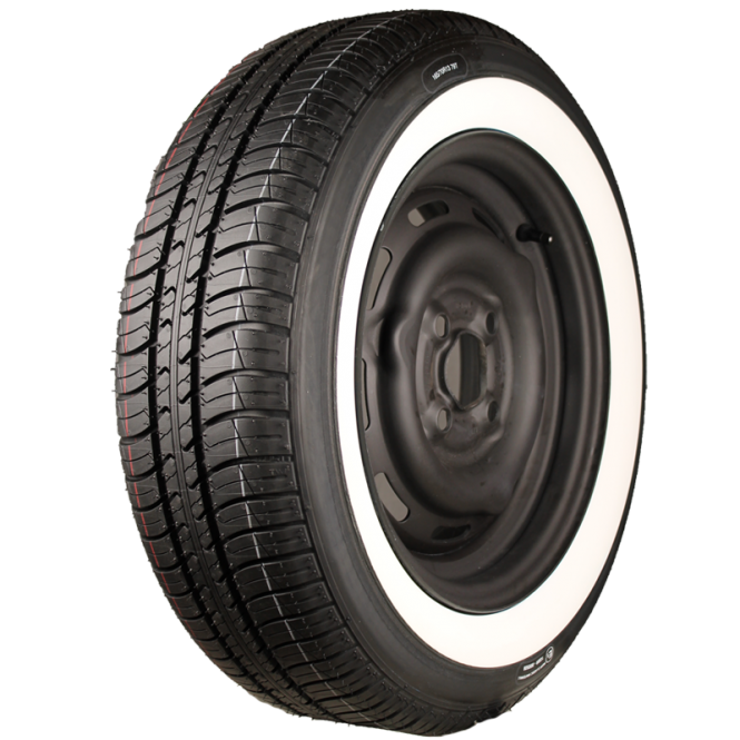 165/70R13 79T TL Kleber Viaxer ca. 40mm MOR-Classic Weißwand