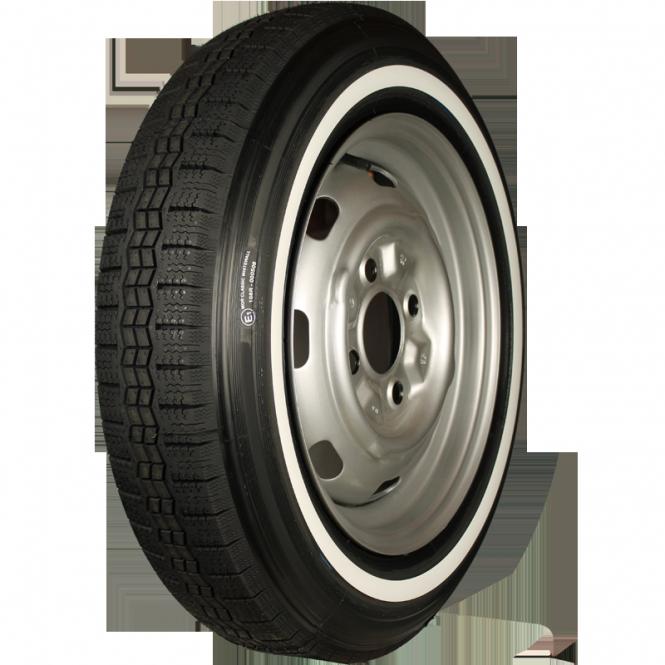 155R15 82T TL Michelin X ca. 20mm MOR-Classic Weißwand