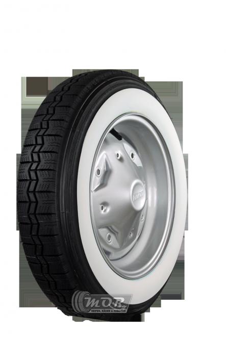 125R12 62S TL Michelin X ca. 45mm  MOR-Classic Weißwand