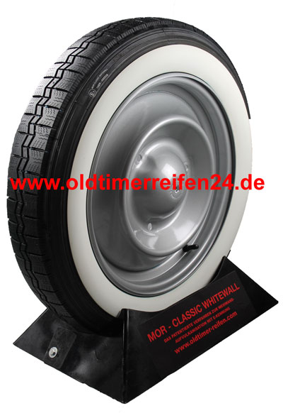 125R15 68S TL Michelin X ca. 40mm MOR-Classic Weißwand
