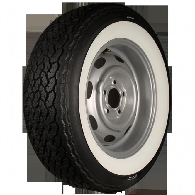 205R14 89W TL Michelin XWX ca. 60mm MOR-Classic Weißwand