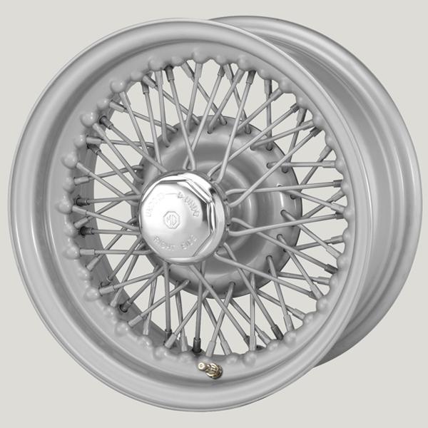 5.5x13 XW-5797 TL silver painted, R42, 60 spokes Curly Hub MWS