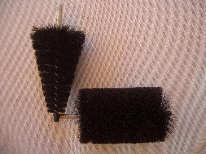 Rimcleaningset A 2 brushes from horse hair