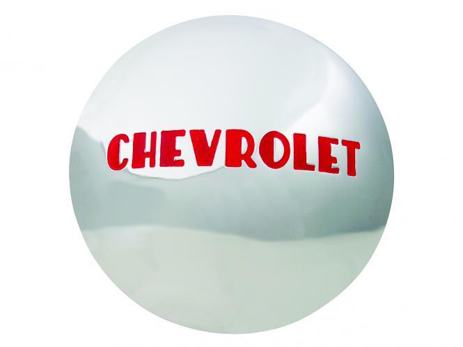 47-53 Chevrolet Cap 7 1/2´´ back dia. SKU: 2030A