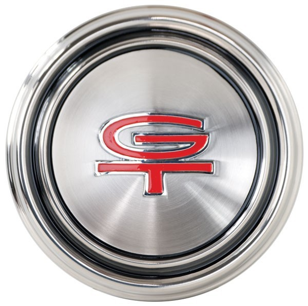Ford Styled Steel cap - GT Emblem ´68-´69 SKU: 689SSCCGT