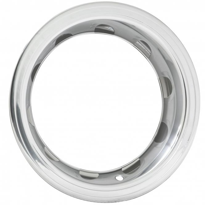 Trim Ring - 15 Inch x 3 Inch Step SS Steel polishe 3´´ breit Edelstahl 3003-P, poliert