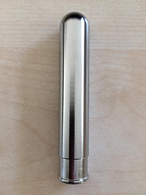Ventilkappe chrom lang für Schrader-Ventil 2030