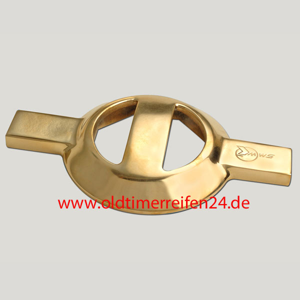 Messing Schlüssel 8-kant R-42  MWS