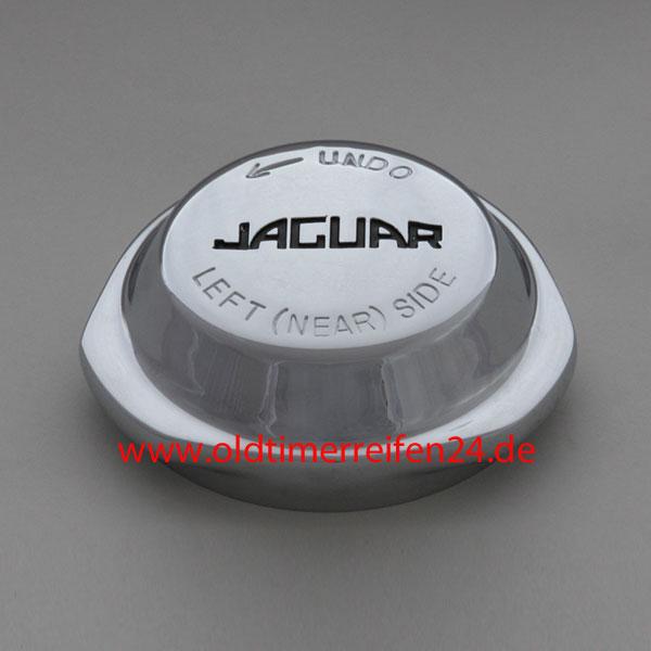 ZV-Mutter 3-Ohren R-52/8 tpi MWS LH KCK127LH Jaguar Gravur Chromed